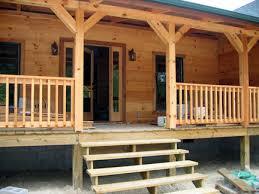 graystone log home