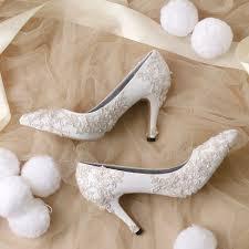 wedding shoes jakarta sepatu pointed brukat putih size 36 40 668000 sku sf046 sepatu lukis sepatu high heels pointed diamonds stiletto wedding 1 jpg
