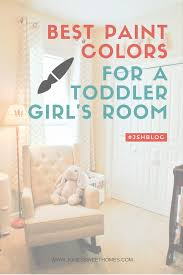 bestpaint the best paint colors for a toddler u0027s room jones sweet homes