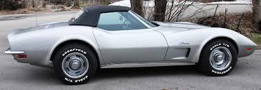 1973 corvette engine options cars unlimited