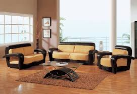 sofa glamorous wooden sofa sets for living room marvelous simple