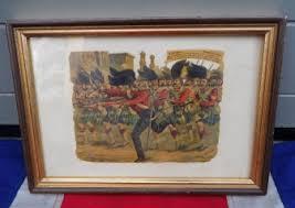 vintage siege siege of lucknow cross framed print