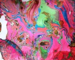 shinekids swirl painting with acrylics shine your light