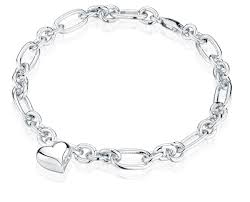 cremation jewelry bracelet heart charm oval link sterling cremation jewelry bracelet for ashes
