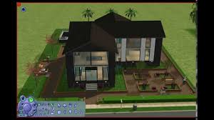 sims 2 small modern house youtube