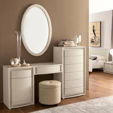 Vanity Table And Stool Set Valdina Cream High Gloss Maxi Modular Dressing Table Mirror