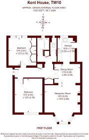 kent homes floor plans 2 bedroom flat for sale in kent house courtlands tw10 tw10