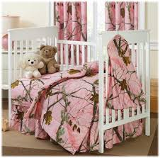 bass pro shops realtree ap colors pink crib bedding collection