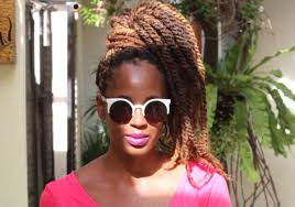 colors of marley hair twists on short natural hair
