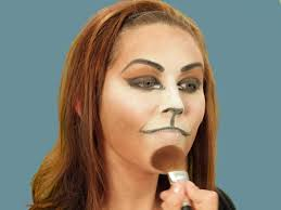 halloween makeup tutorial cat hgtv