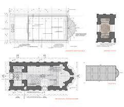 Church Floor Plans by Conservation Restoration And Adaptation Of Church U201cst Paraskeva