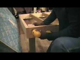How To Build A Full Size Platform Bed With Drawers by Building A Platform Bed For Under 30 Youtube