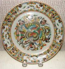 c 1850 export pr of 1000 butterfly plates for sale