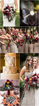 fall colors for weddings best 25 october wedding colors ideas on fall wedding