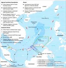 Map Of The South China Versus Vietnam An Analysis Of The Competing Claims In The