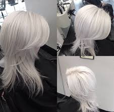 how to snow white hair color modern salon