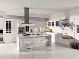cuisine avec ilots central cuisine blanche avec ilot central fascinant meubles image cuisine