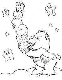 care bears fun quality coloring pages care bears fun quality