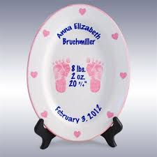 baby birth plate 26 best keepsake baby plates images on baby plates