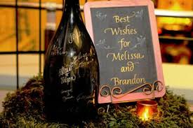 wine bottle guestbook cafferata wedding wine bottle guest book