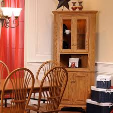 dining room corner cabinets americana corner cabinet setting king dinettes custom dining