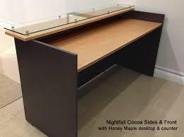 Ofs Element Reception Desk with Free Standing Reception Desk Ada Compliant Front Desk Design