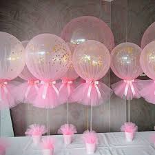 baby shower decorations for best 25 tulle baby shower ideas on balloon ideas