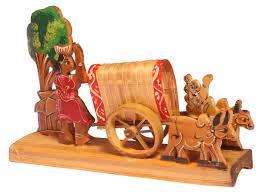 Wholesale Home Decor Items Showpiece Of A Bullock Cart U2013 Handcrafted In Bamboo U2013 Unique