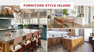 furniture style kitchen island 65 best kitchen island ideas for 2018