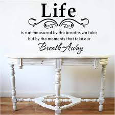 Headboard Wall Decal Headboard Wall Art Lettering Decal Sticker Life Saying Wall Quote