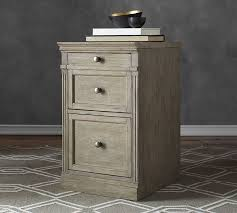 Single Drawer Cabinet Livingston Single 2 Drawer Lateral File Cabinet Pottery Barn