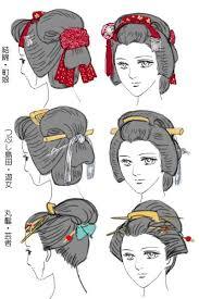 Geisha Hairstyles Best 25 Geisha Hair Ideas On Pinterest Geisha Makeup Japanese