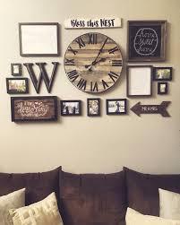 rustic home decorating ideas living room inspiring home decor idea handmade desk clock country living room