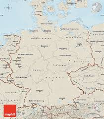 Maps Of Germany by Shaded Relief Map Of Germany