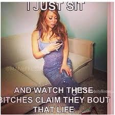 Mariah Meme - lmao mimi mariahcarey boutthatlife sheis thebomb humor
