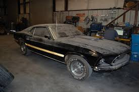 Barn Find Videos Found Cobra Jet Mustang Hidden In Basement For 28 Years Rod
