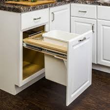 pull out trash can for 12 inch cabinet hardware resources can tmsc 12 top mount single waste bin pull out