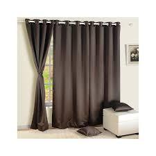 Chocolate Curtains Eyelet Buy Dark Chocolate Blackout Curtains Online Plain Eyelets