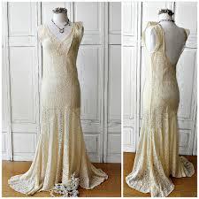 evening wedding dresses alencon lace trumpet wedding evening gown