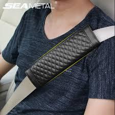 rembourrage siege auto ceintures de sécurité de voiture universel couvre 2 pcs made