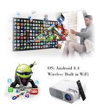 led home theater projector 1080p sourcingbay led wireless video projector 2600 lumens 800x480 hd