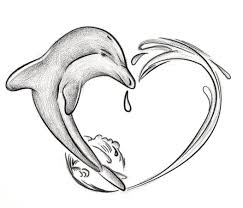 heart shaped dolphin tattoos pictures to pin on pinterest tattooskid