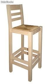 taburete madera taburete madera de pino respaldo cosas de madera