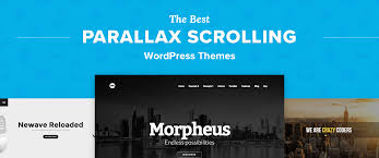 wp themes video background top 5 best parallax wordpress themes for one page sites portfolios
