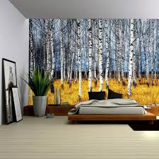 drop shipping painting tree wall tapestry home decor wall hanging