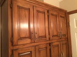 How To Clean Kitchen Cabinets Wood Golden Oak Cabinets Enhanced With Mahogany Gel Stain Gel Stain