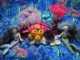 by hook by hand crochet a coral reef