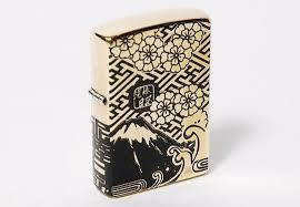 zippo design japan trend shop zippo lighter mt fuji cherry blossom design