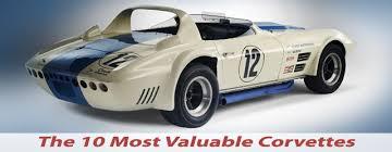 rarest corvette the most valuable corvettes built