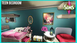 Teenage Girls Bedrooms The Sims 3 Big Teen Bedroom Youtube